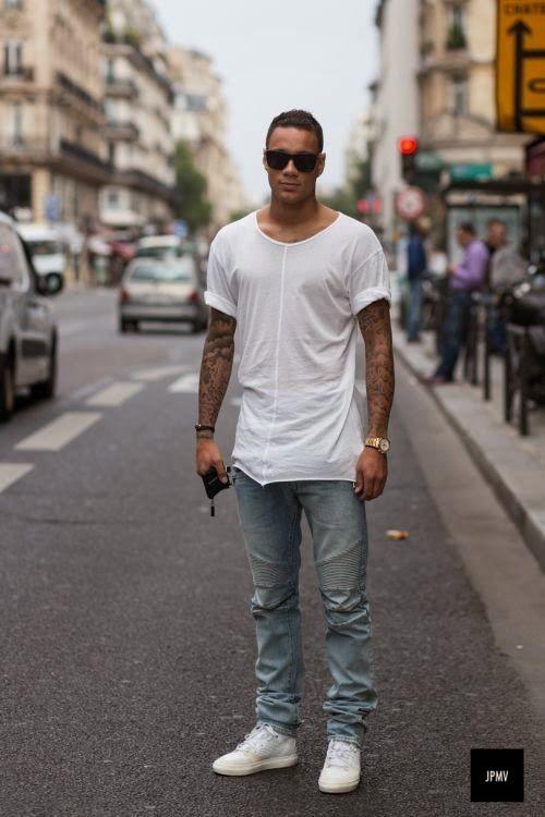 181557d65fd Macho Moda - Blog de Moda Masculina  Looks Masculinos com Tênis Branco