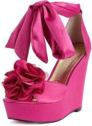 c7e3e4de2ad ShopStyle: Paris Hilton Shoes, Janice Wedge Sandals | BOHEMIAN ...