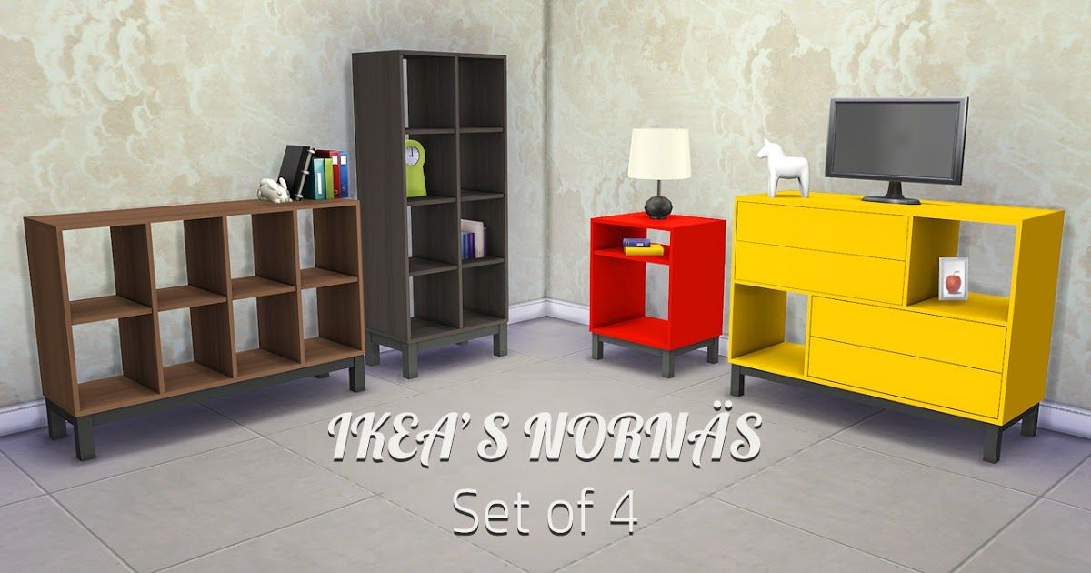 Sims 4 Ccs The Best Ikea Furniture By Llenies Sims 4