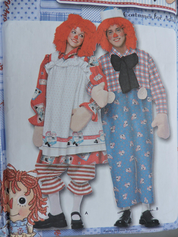 Girls RAGGEDY ANN Classic Costume