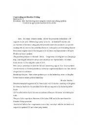 English Worksheet Copyreading Exercise Copyreading English