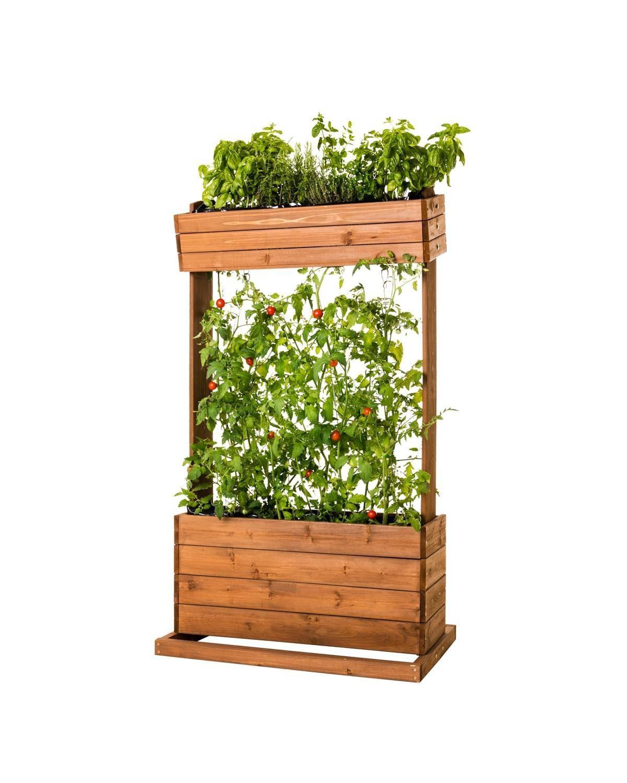 Vertikales Hochbeet Raise 2 62 X 42 X 87 Cm Tanne Raise 2 42 62 87 Cm Hochbeet Tanne Vertikales X In 2020 Diy Deco Garden Decor Items Garden Decor