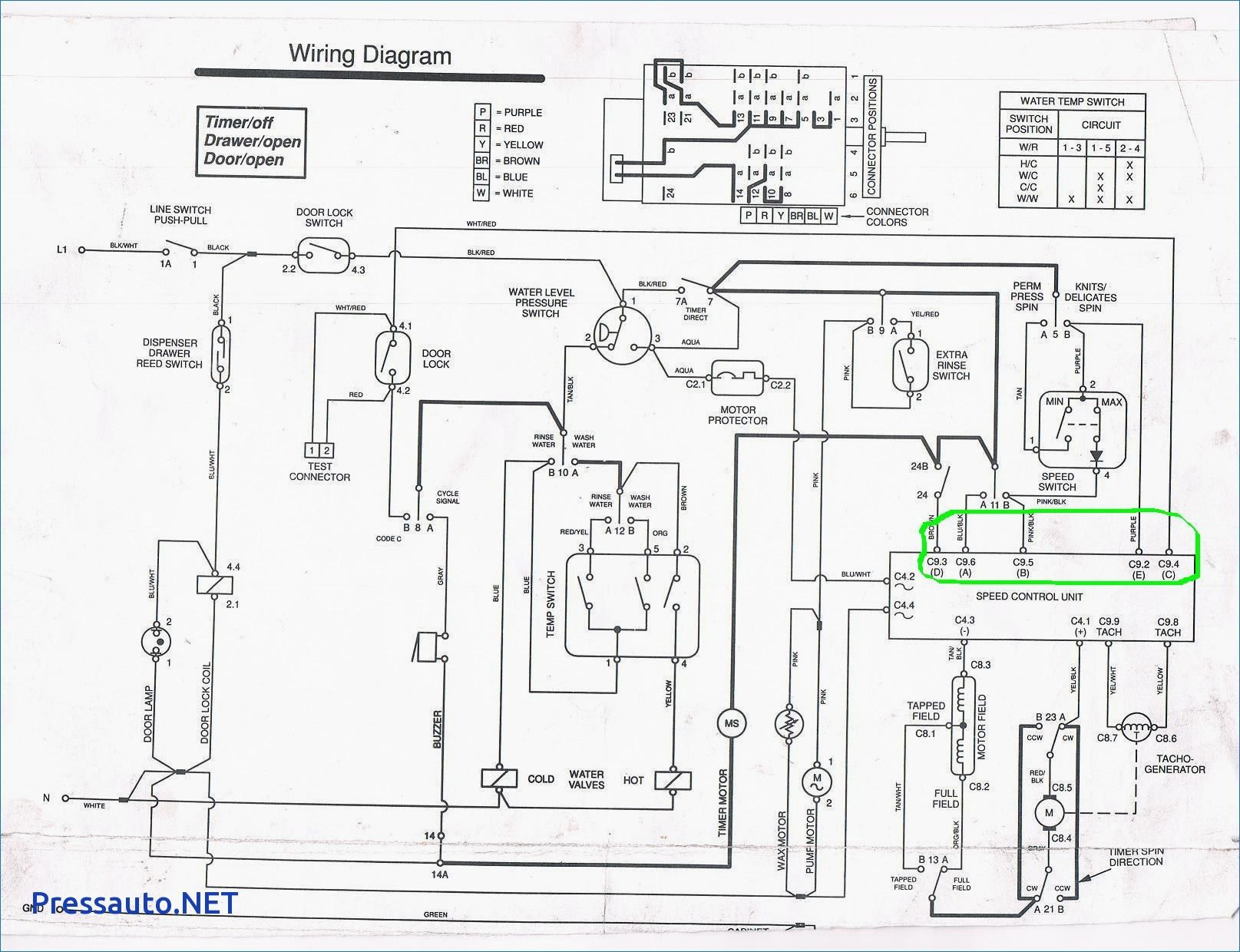 Wiring Diagram Of Washing Machine Motor Washing Machine Motor Whirlpool Dryer Whirlpool Refrigerator
