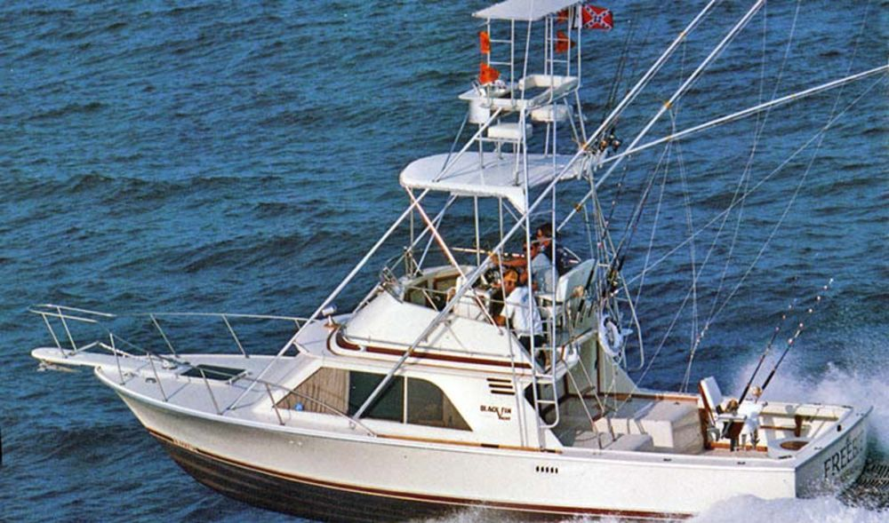 Top sportfishing boats all time fishing machines for Sport fishing boats