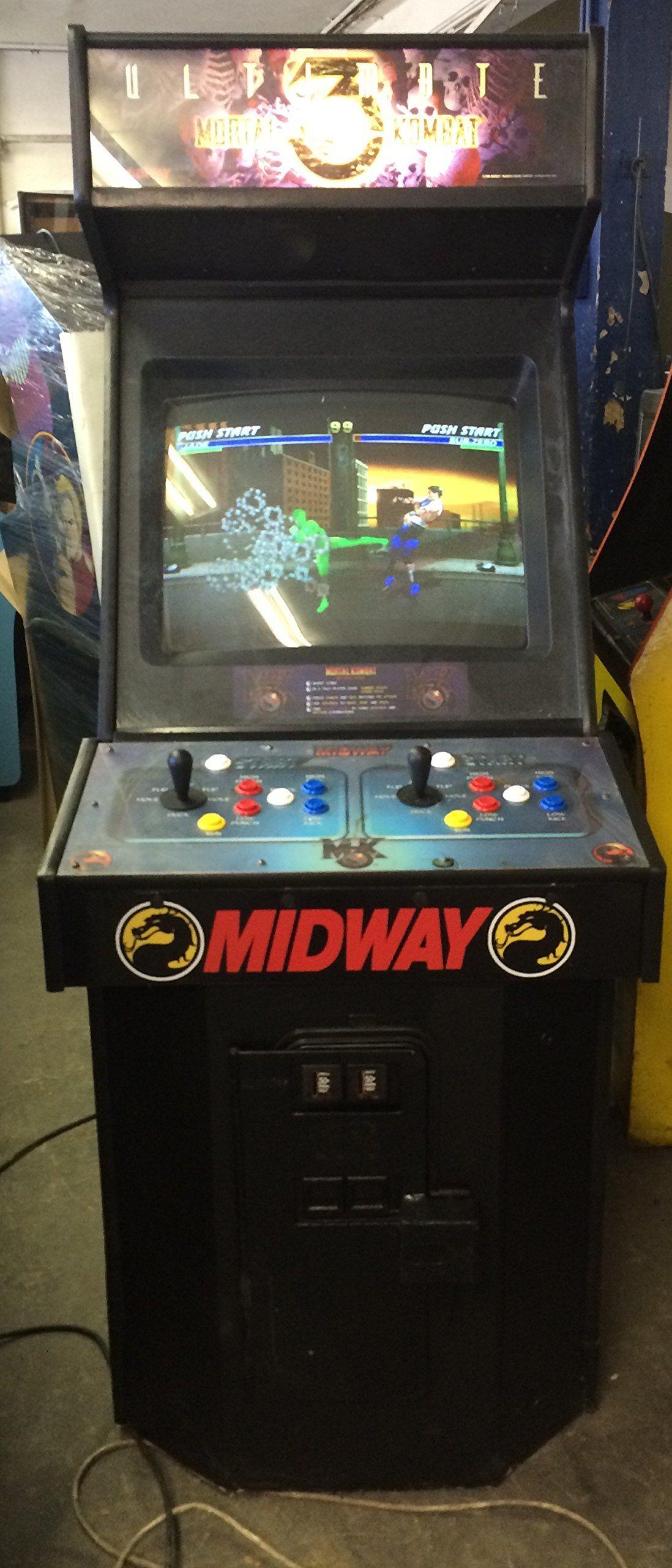 Mortal Kombat 3 Ultimate Arcade Game Arcade Arcade Games Mortal