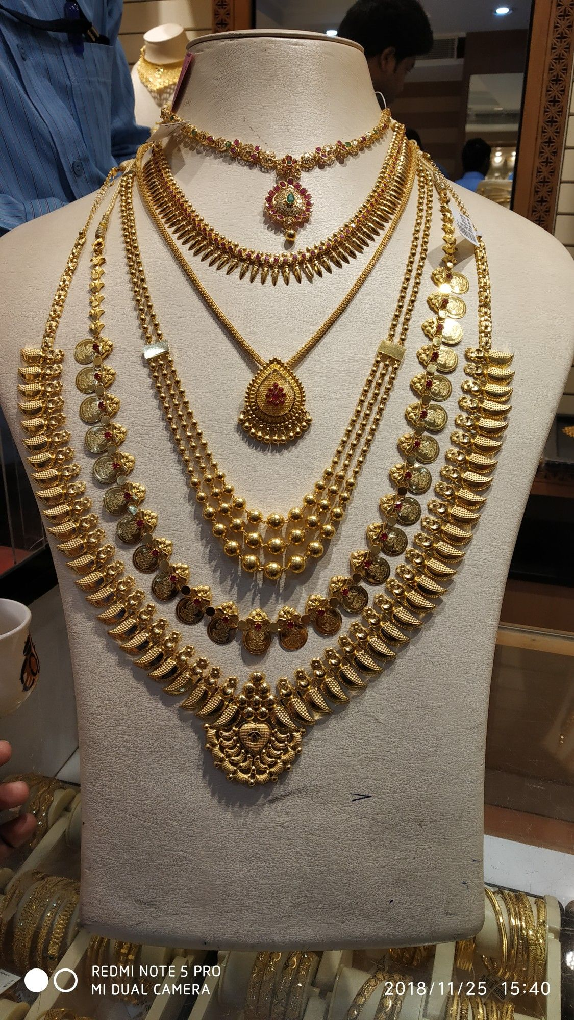 Layering Bridal Gold Jewellery Gold Necklace Indian Bridal Jewelry Gold Jewelry Fashion