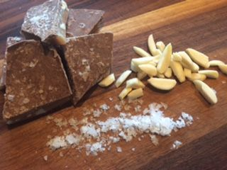 "Our best seller- ""Sea Salted English Toffee"""