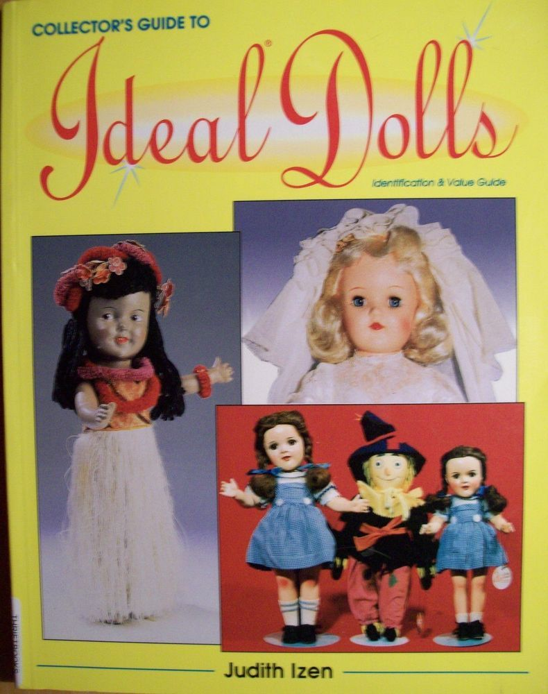 VINTAGE IDEAL DOLLS PRICE GUIDE COLLECTORS BOOK Thumbelina Tammy ...