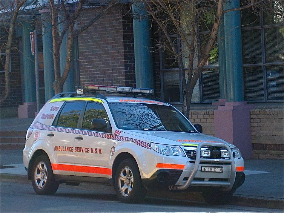 Sydney Ambulance Ambulance, Subaru forester, Subaru