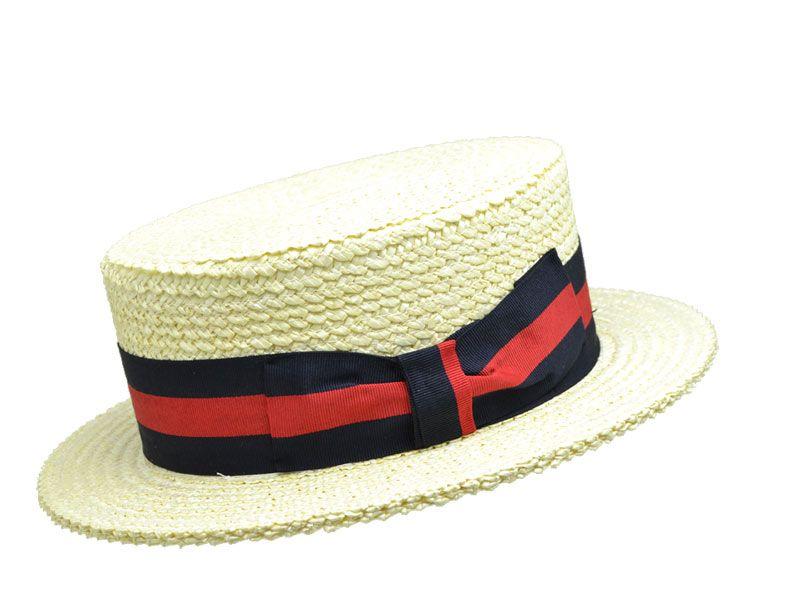 Boater oder Girardi Hut von Mauerer Hüte