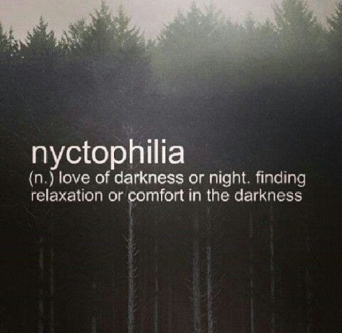 Nyctophilia Dark Quotes Words Beautiful Words
