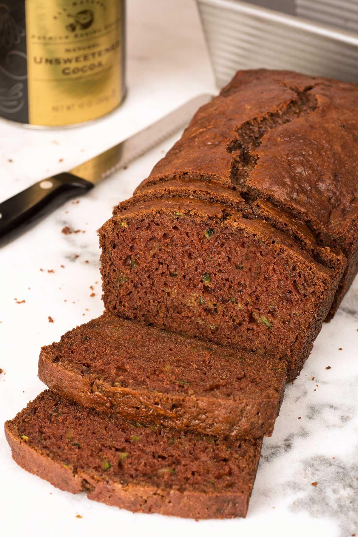 Chocolate Zucchini Bread: Our chocolate zucchini bread recipe combines shredded…
