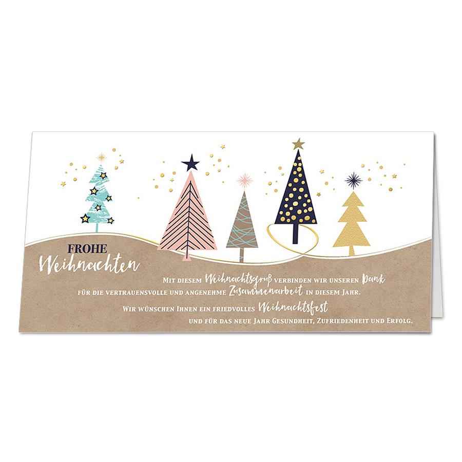 Moderne Weihnachtskarten Geschaftspartner Mit Edler Goldfolienpragung Weihnachtskarten Christmascards Xmascard Weihnachtskarten Karten Weihnachten Spruch
