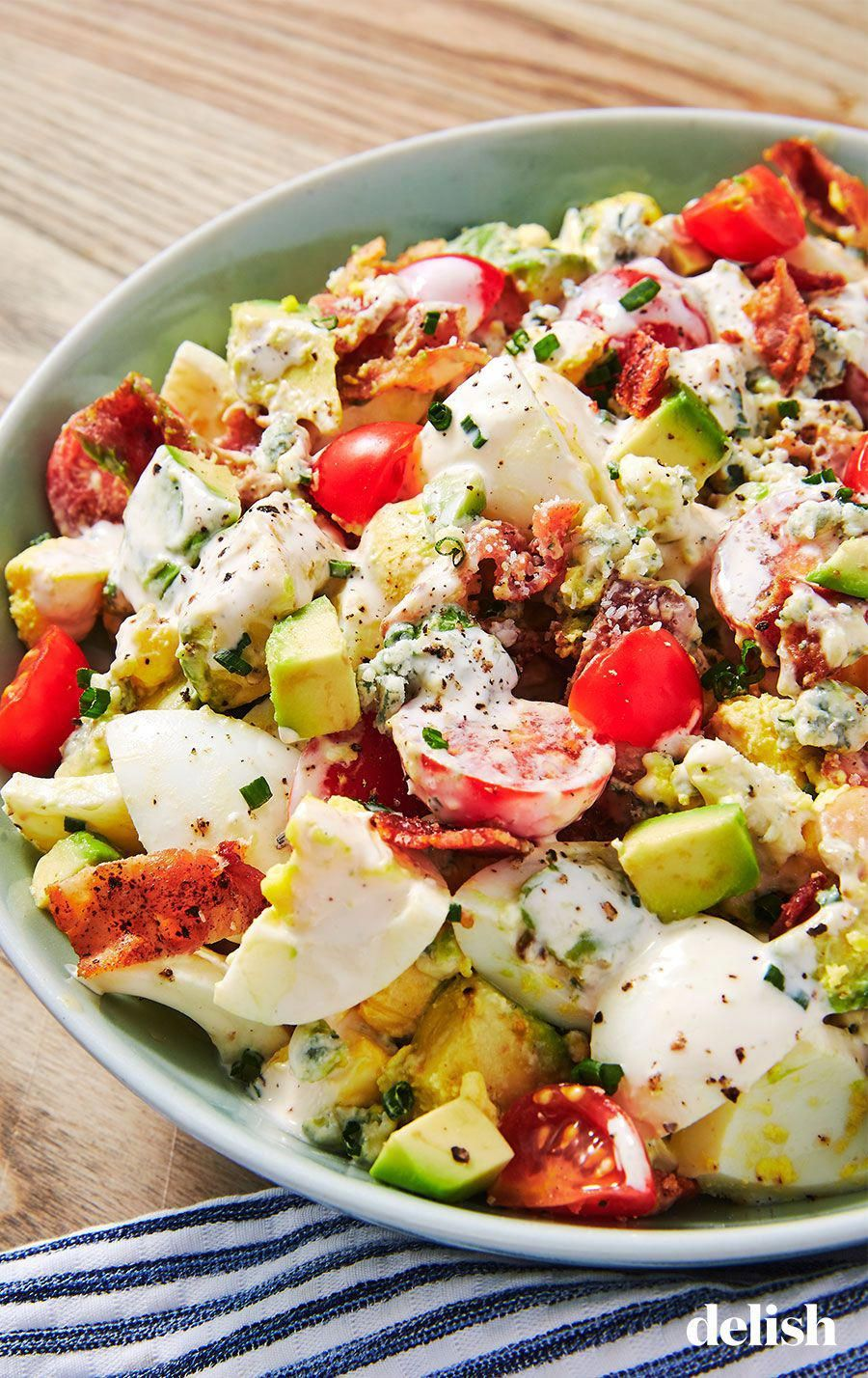Cobb Egg Salad is the side that becomes your ENTIRE meal. Get the recipe at .