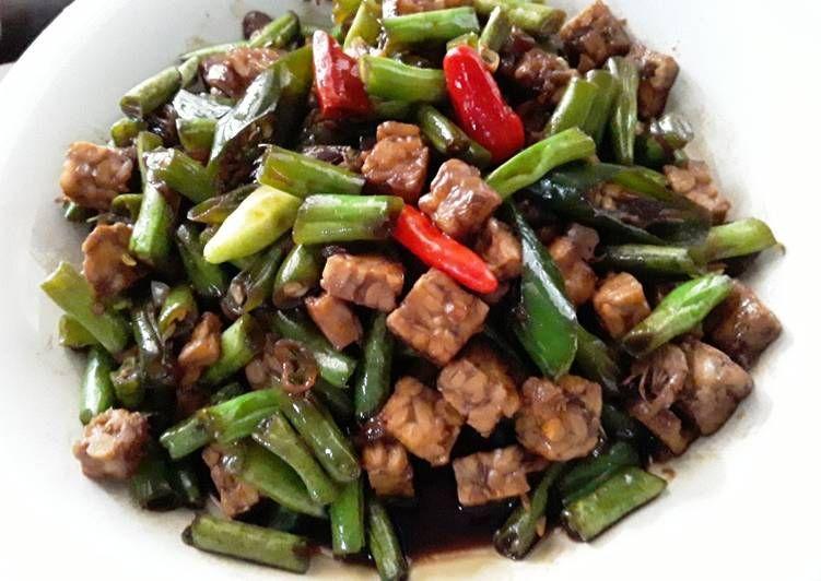 Resep Oseng Buncis Tempe Yang Gurih Resep Di 2020 Resep Masakan Makanan Makanan Dan Minuman