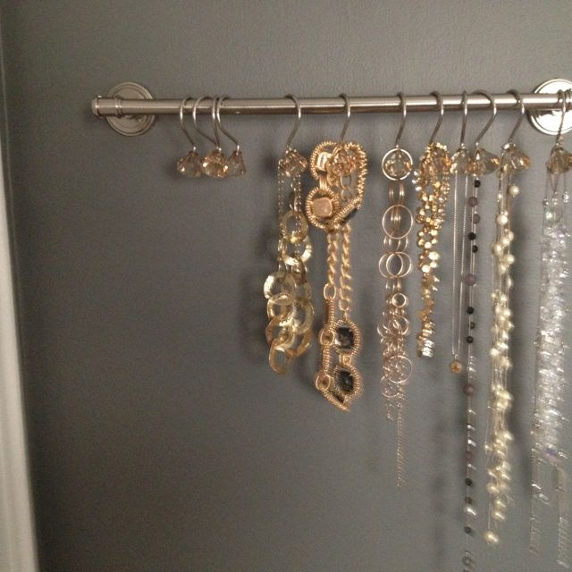 Ideas For Diy Necklace Hooks