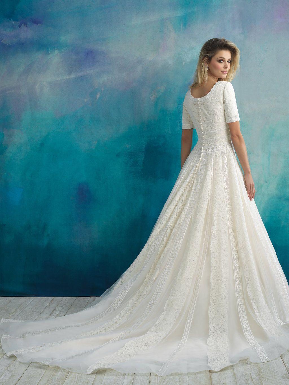 Amazing Modest Wedding Dresses Cheap Image - All Wedding Dresses ...