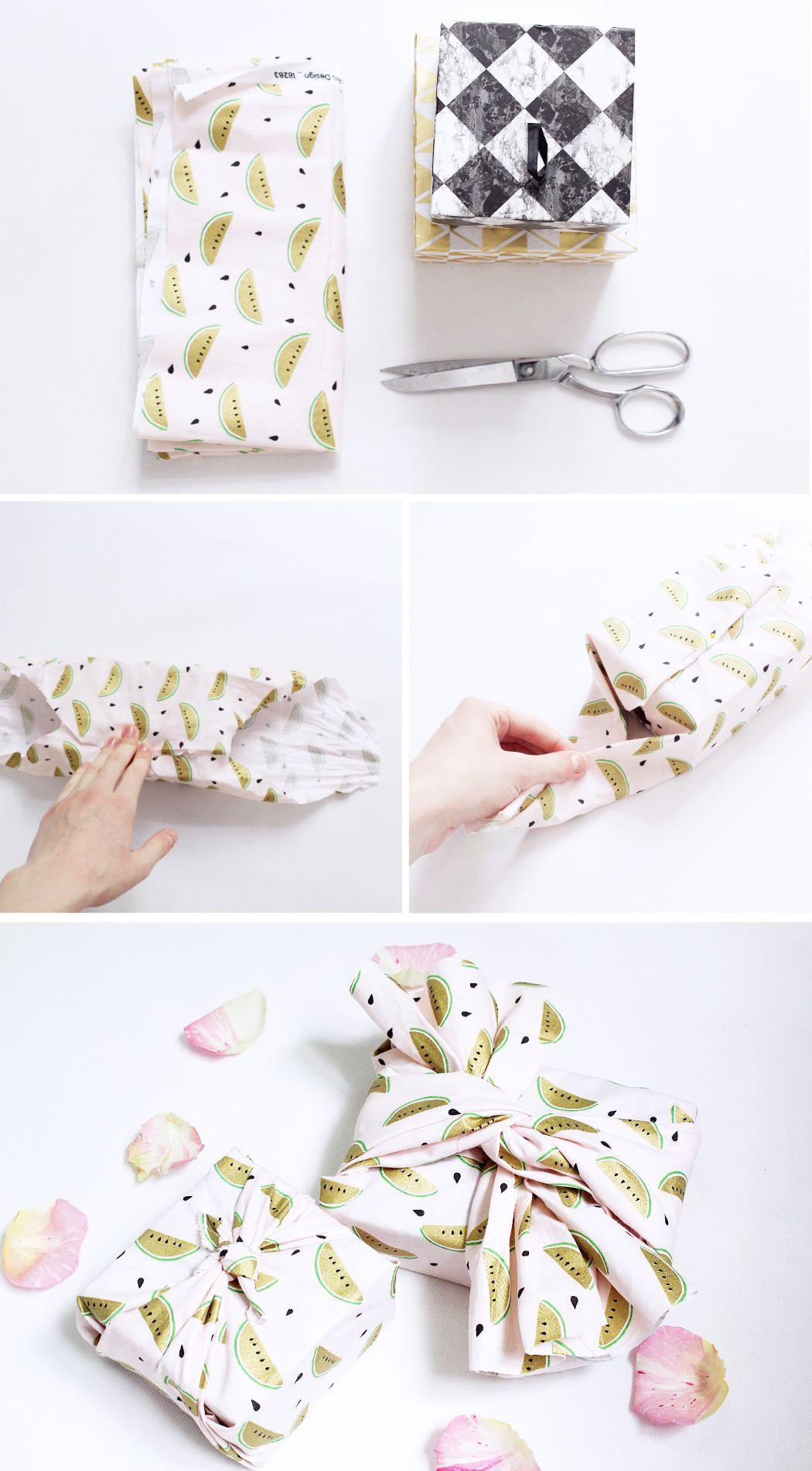 DIY Tutorial: So macht ihr Furoshiki! Geschenke Kreativ Verpackenim japanischen Stil. Mehr dazu lest ihr auf madmoisell.com