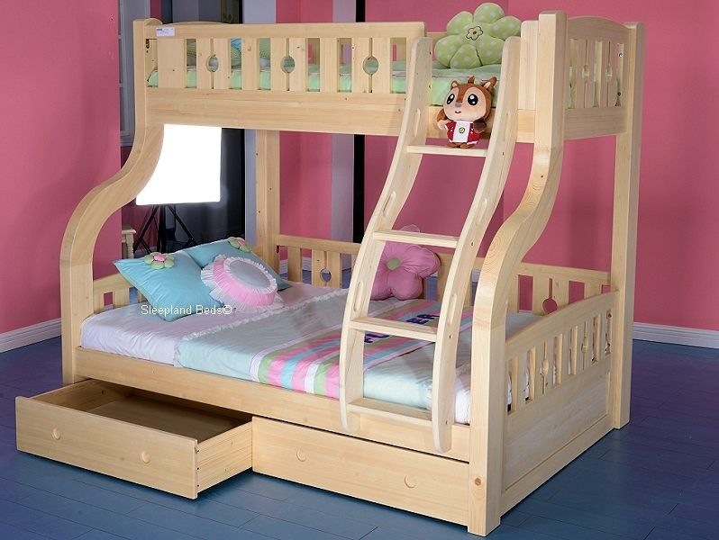 Luxury Pine Double Bunk Bed Proyectos Que Intentar