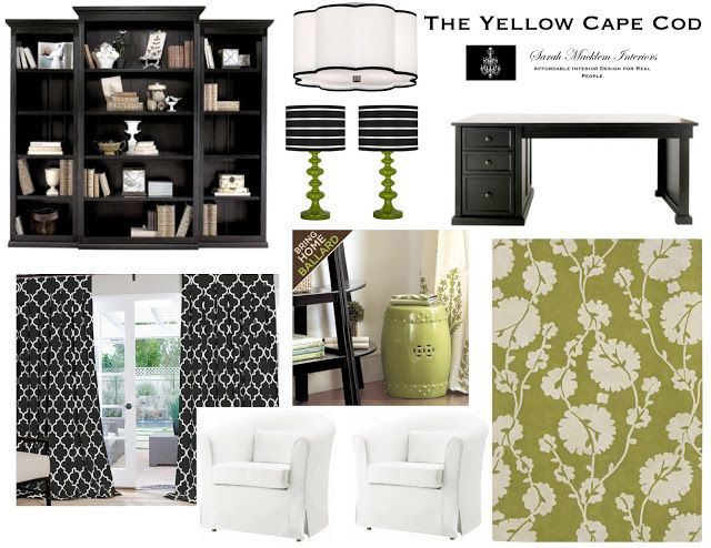 The Yellow Cape Cod: 50 Plus Custom Room Designs Lamps!