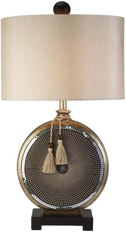 Ok Lighting OK 4233T Mosaic Table Lamp | Lamp, Table lamp