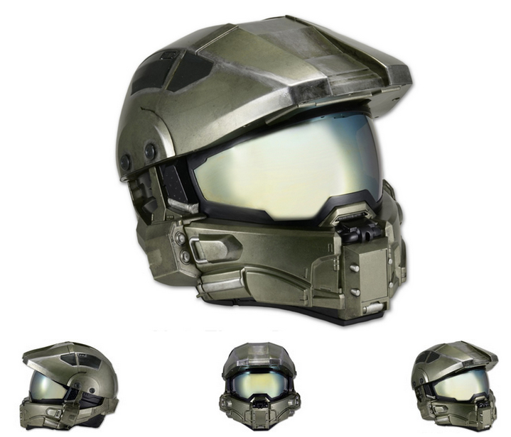 Motorcycle Helmets Inspired By Video Games And Movies Modular Motorcycle Helmets Master Chief Motorcycle Helmets