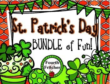 This BUNDLE contains 6 different files to create St. Patricks Day fun all month long in your Upper Elementary Classroom! These activities offer a variety of uses. They can be done in whole group or small group. You can design your activities to be done over a few days or spread them throughout the whole month.