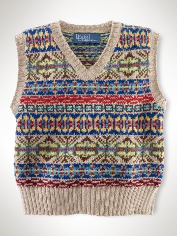 Fair Isle Sweater Vest - Infant Boys Sweaters - RalphLauren.com ...