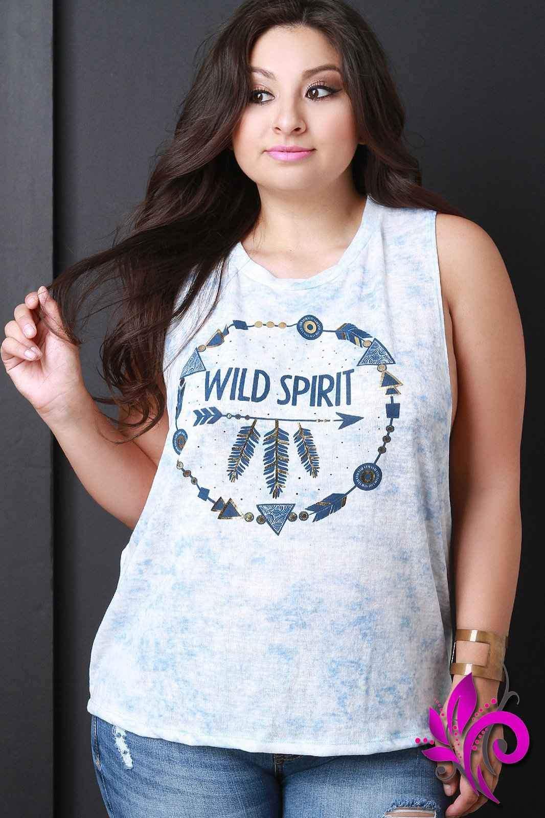 Wild Spirit Tie Dye Tank Top | Products | Pinterest