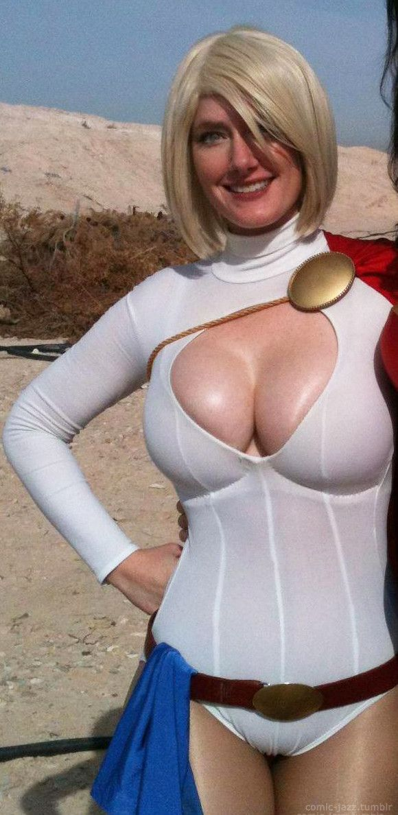 Power girl nude