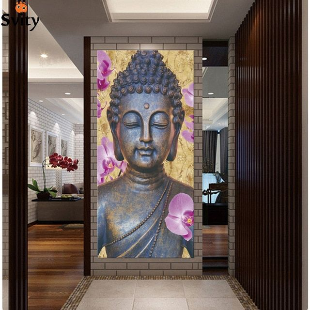 New ! Abstract Printed Hotoke Buddhism Buddha Painting Picture Cuadros Decor Buda Canvas Art For Bed Room No framed F1641 Review #buddhadecor
