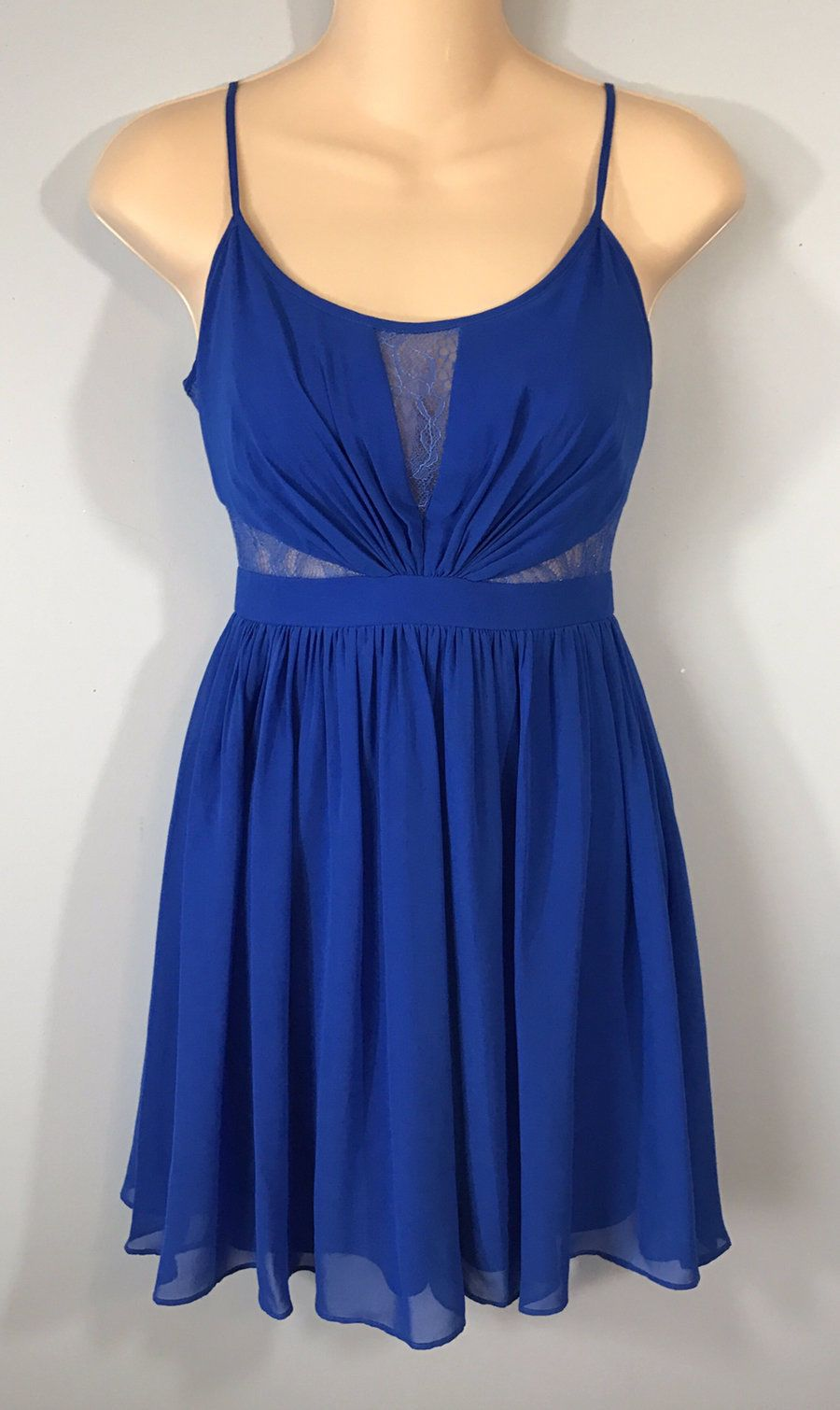 Nice great hailey logan by adrianna papell short blue formal dress