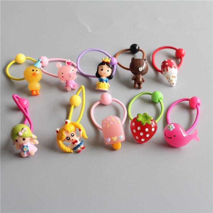 >> Click to Buy << Children Hair Ropes Cartoon Animal Crocodile Angel Elastic Rubber Hair Band Girls Hair Accessories Baby Headwear Kids Headdress #Affiliate