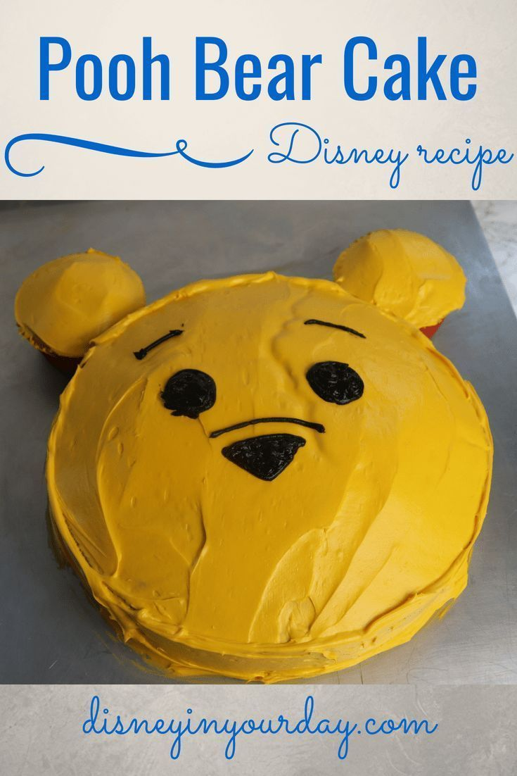 Photo of Make a Winnie the Pooh cake  Disney in your Day