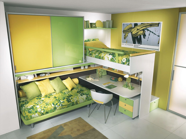 Bright Kids Room Ideas From Sangiorgio Mobili
