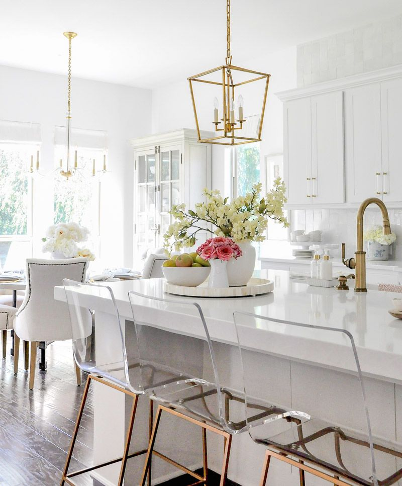 Our Bright Inviting Kitchen Reveal Kitchen Stools Kitchen