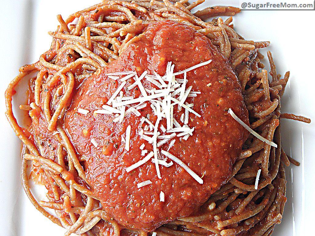 Sugar free pasta sauce recipes