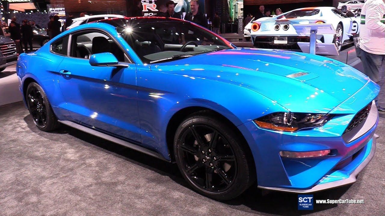 2019 Ford Mustang Ecoboost Fastback Exterior And Interior