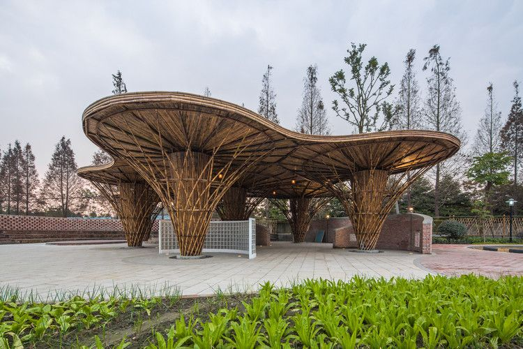 Atelier REP is part of architecture - Completed in 2015 in Chengdu, China  Images by zsstudio, Baoxin Yang   The  Bamboo garden  is located in a typical countryside nearby the city  It is a  rejuvenation  project which implants new functions of family