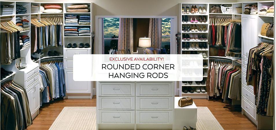Curved Corner Closet Rod Organizers Kacang Xyz