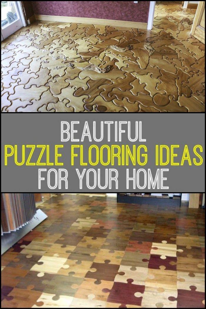 Puzzle Floor Ideas Unique Flooring Modern Flooring Flooring