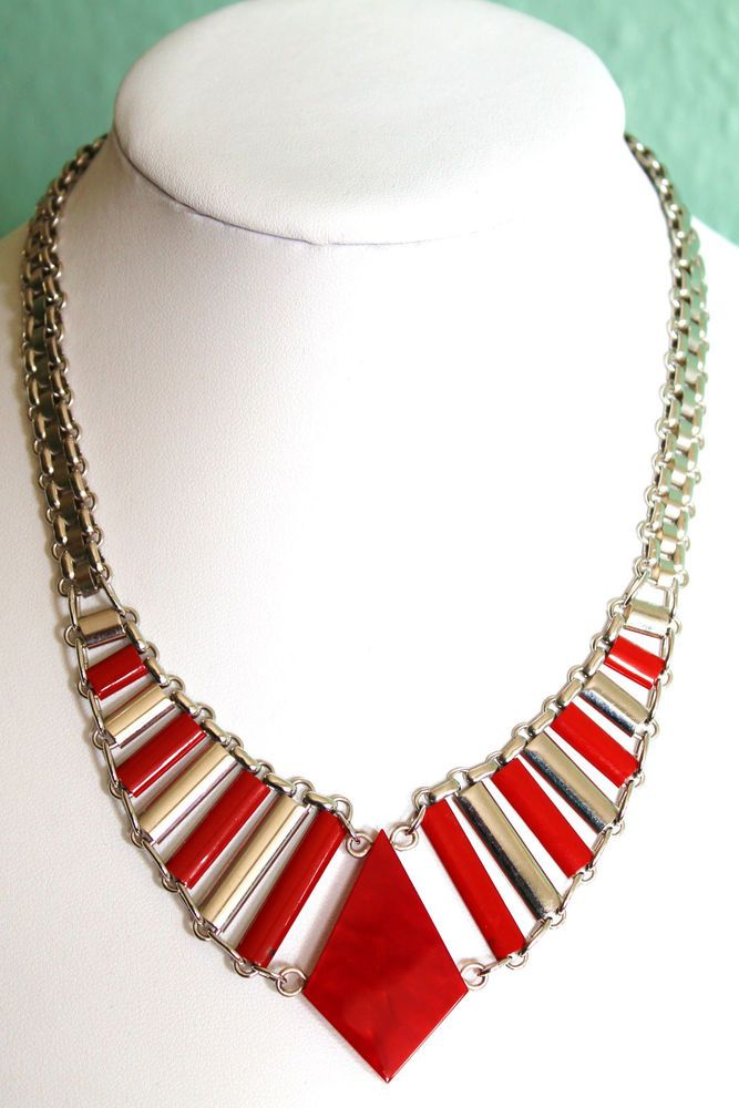 Art Deco Collier / Necklace / Jakob Bengel / Germany / Galalith/ mit Zertifikat
