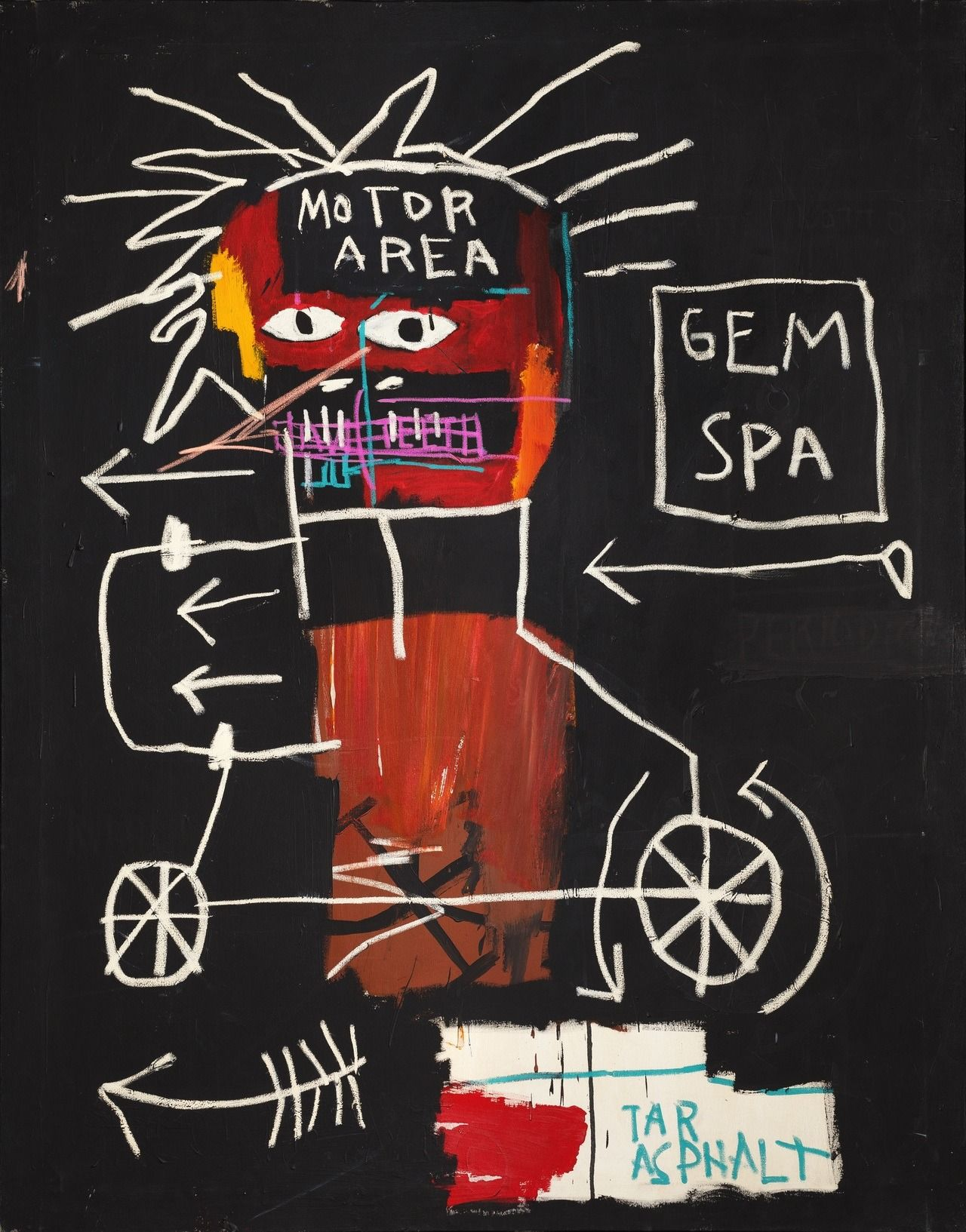 A Paper Bear Art Journal Tumblr Jean Michel Basquiat Jean Basquiat Basquiat Art