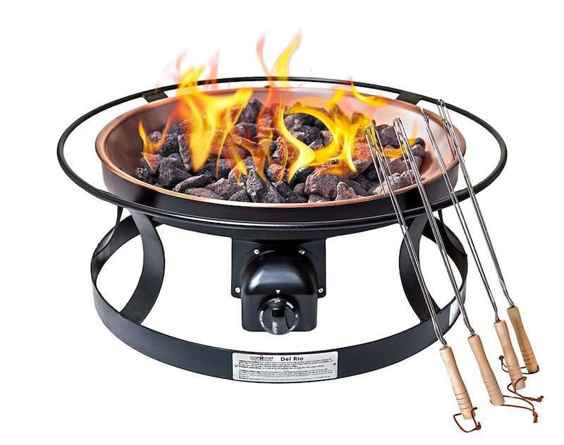 A Camping Would Never Be Without A Matching Fire Pit On It That Is Where Camp Chef Fp29lg Propane Gas Fire Pit Ente Gas Firepit Gas Fire Pits Outdoor Fire Pit