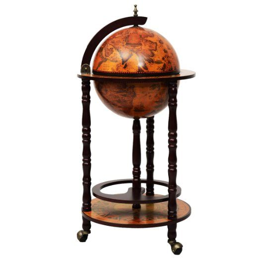 globusbar globus bar minibar hausbar weltkugel cocktailbar dekobar tischbar neu bar globus. Black Bedroom Furniture Sets. Home Design Ideas