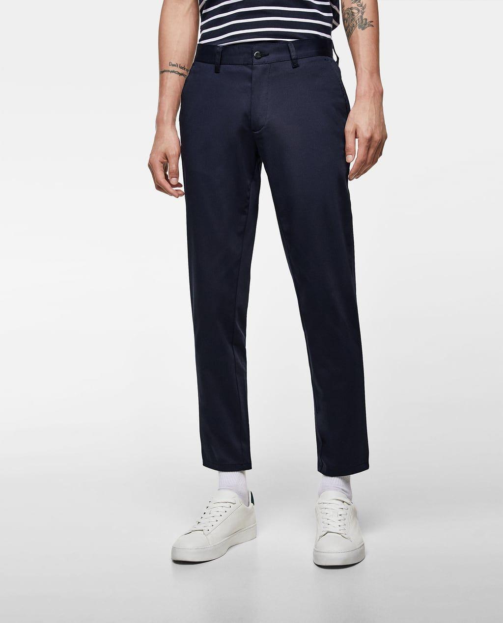 estilo clásico de 2019 baratas para descuento completamente elegante Image 2 of CROPPED SLIM FIT CHINO PANTS from Zara | Wardrobe ...