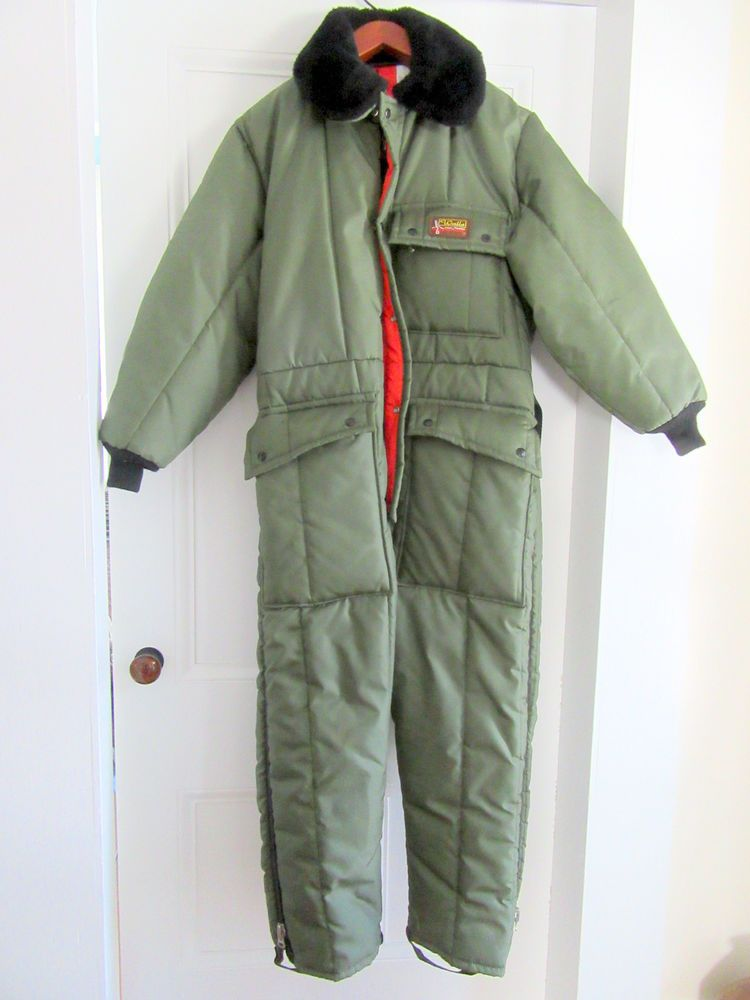 walls blizzard pruf green insulated coveralls men s lg reg on walls coveralls id=81640