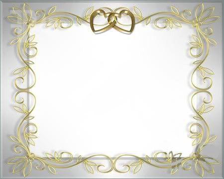 Wedding Invitation Border Design Images | wedding certs ...