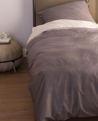 Schoner Wohnen Pure Sand Anthrazit Bettwasche Romodo Schoner Wohnen Bettwasche Und Wohnen