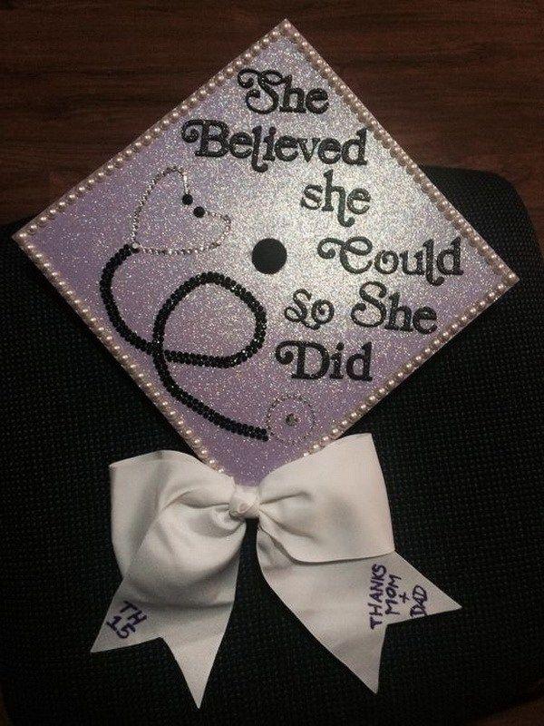 Creative Graduation Centerpiece Ideas : Creative graduation cap decoration ideas
